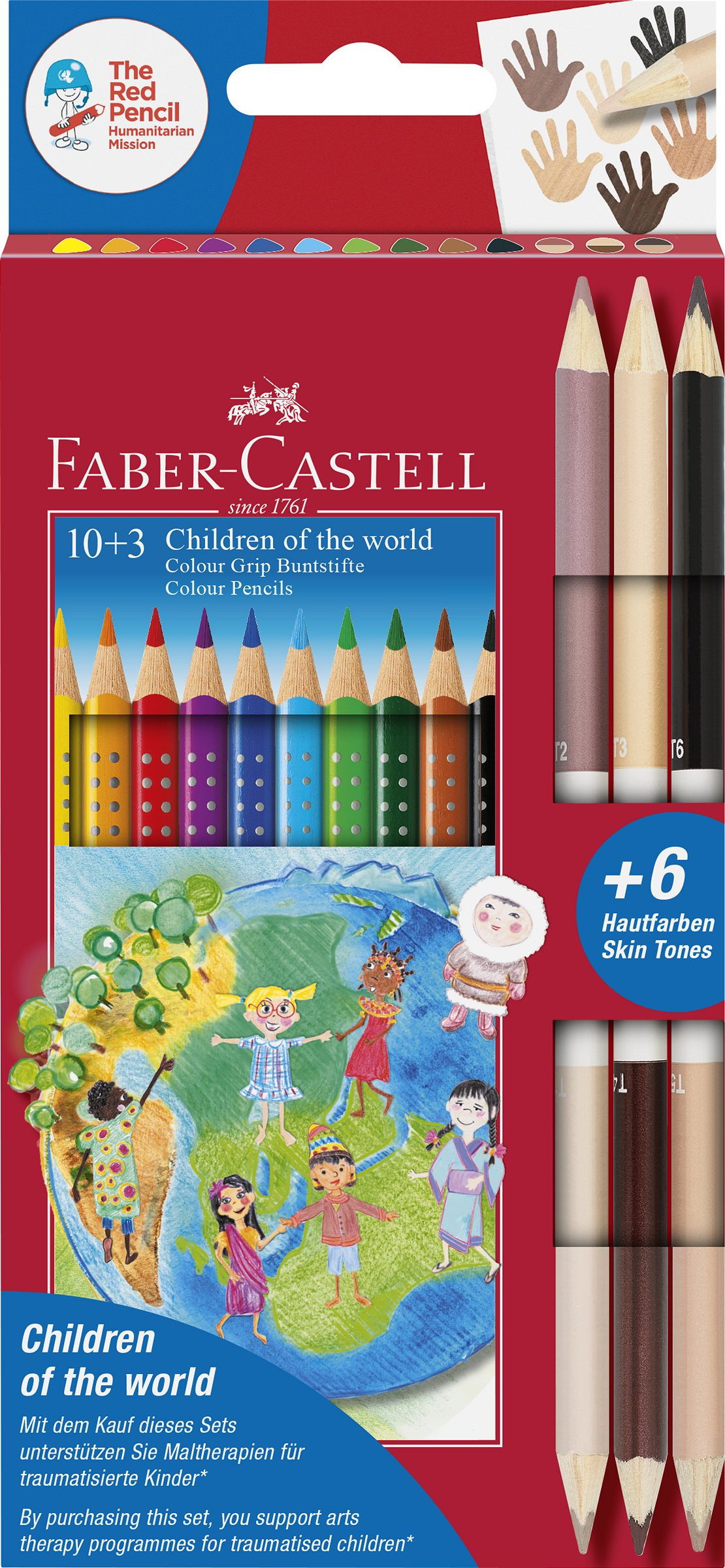 Faber-Castell_Children of the world Buntstiftset 10+3_10 EUR