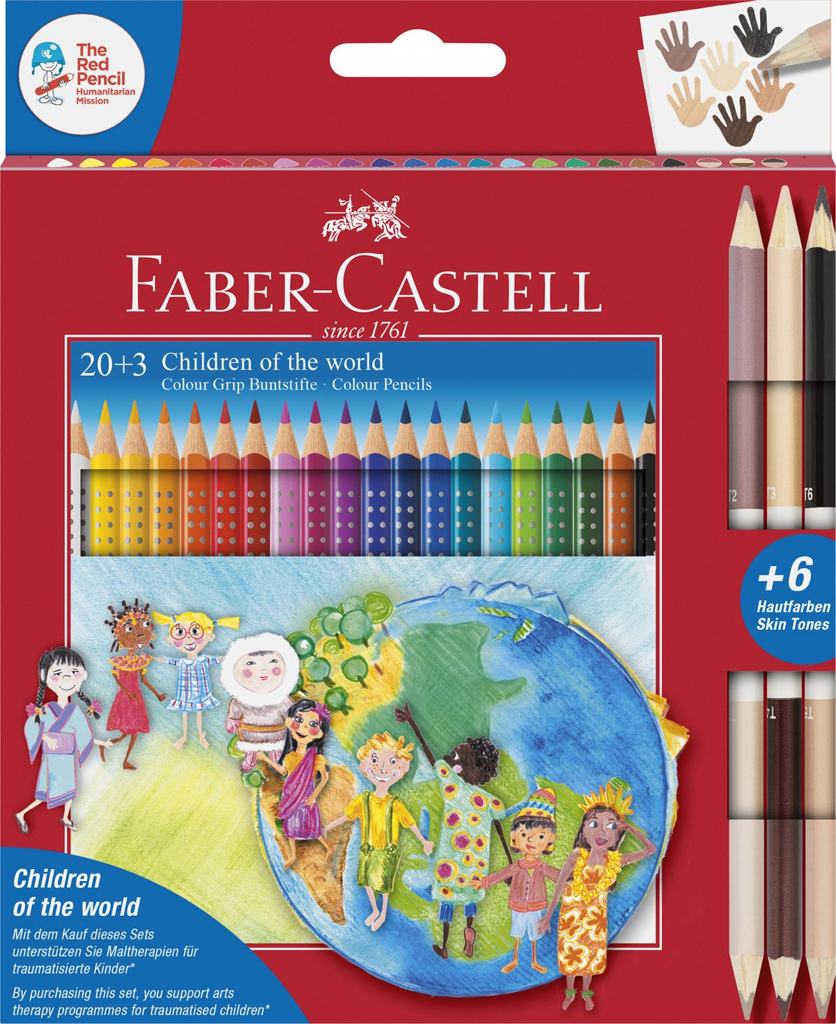 Faber-Castell_Children of the world Buntstiftset 20+3_20 EUR