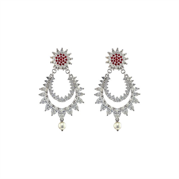 Atelier Swarovski_Botanical Jewels_Detatchable Statement Earrings - Red (2) EUR 449,-