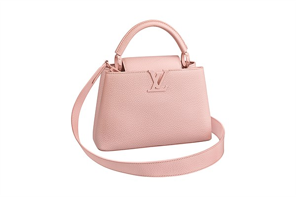 LV_Capucines BB_monochrome eau de rose_in Taurillon leather
