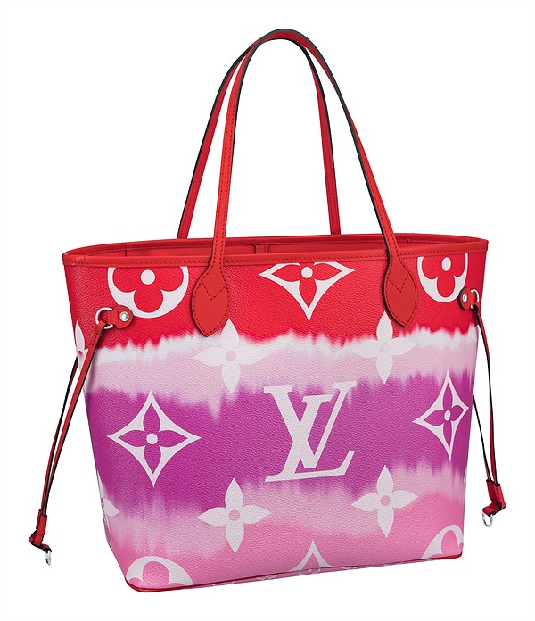 LV Escale_Neverfull in Monogram Giant canvas