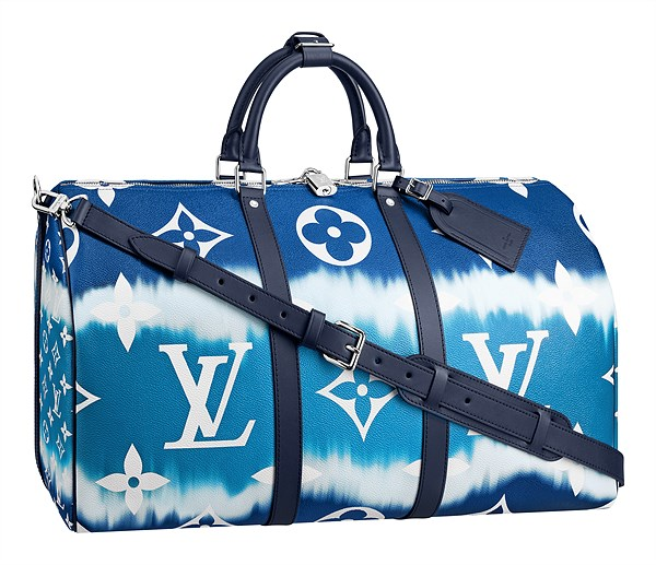 LV Escale_Keepall 50 Bandouliere in Monogram Giant canvas