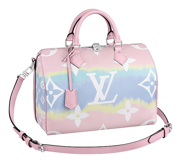 LV Escale_Speedy 30 Bandouliere in Monogram Giant canvas