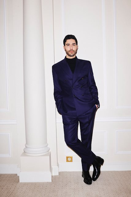 Louis Vuitton_Golden Globes 2021_TAHAR RAHIM 1